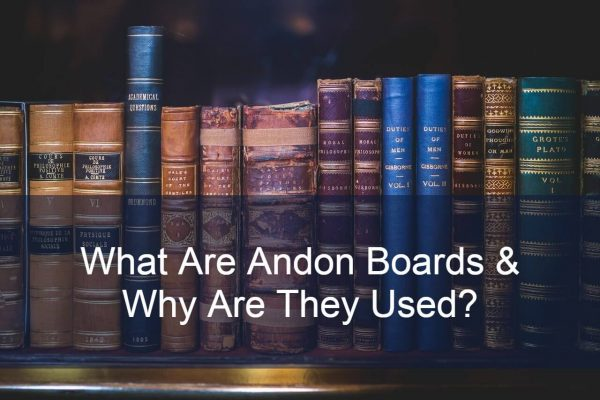 what are andon boards